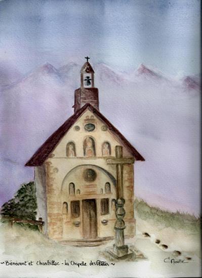 Bénévent et Charbillac - La Chapelle des Pétètes