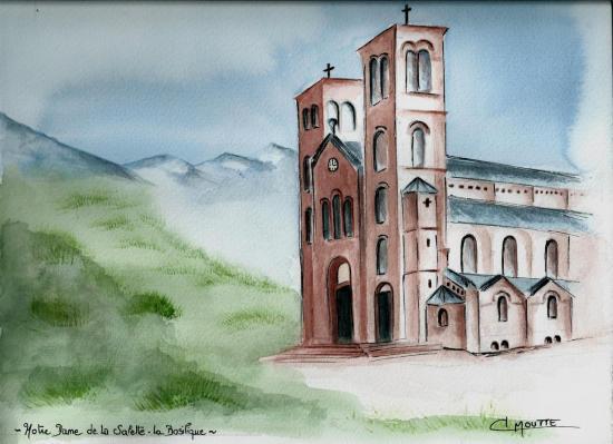 La Basilique de Notre Dame de la Salette - Isère -